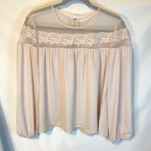 Express flowy blouse medium